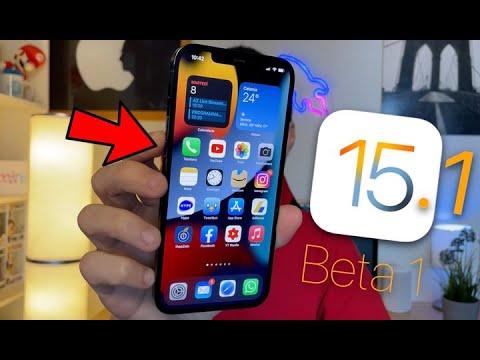 iOS 15.1 Beta 1 | ECCO TUTTE le NOVITÀ