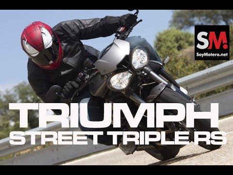 Triumph Street Triple RS 2017 (II): Prueba Moto Naked [FULLHD]