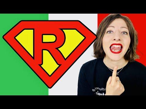 """Come PRONUNCIARE la """"R"""" italiana VIBRANTE: esercizi per IMPARARE a dire ERRE (no moscia) + Rotacismo"""