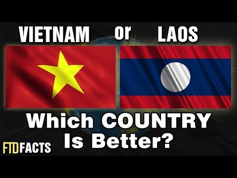 VIETNAM or LAOS - Which Country Is Better?