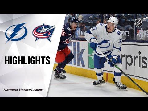 Lightning @ Blue Jackets 4/8/21   NHL Highlights