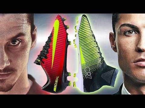 huge discount 3ee7a 2831e Ibrahimovic VS Ronaldo - Boot Battle  Nike Mercurial Vapor XI vs Superfly V  Test   Review