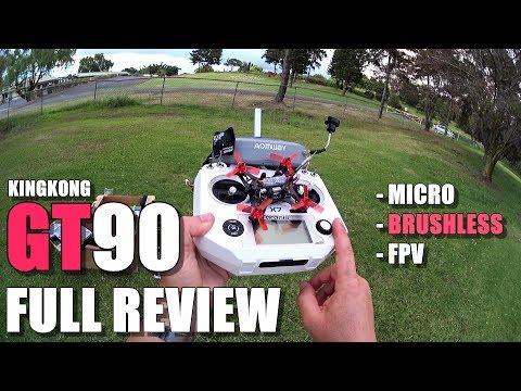 KingKong 90GT Micro Brushless FPV - Full Review - [Unboxing, Inspection, Flight Test, Pros & Cons] - UCVQWy-DTLpRqnuA17WZkjRQ