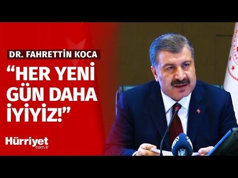 Sağlık Bakanı Fahrettin Koca'dan Günün Verileri | 22.04.2020