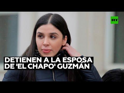 Detienen en EE.UU. a Emma Coronel, esposa de Joaquín 'El Chapo' Guzmán
