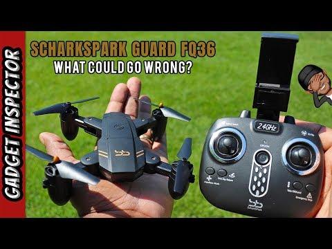 ScharkSpark Guard FQ36 Foldable Drone Review - UCMFvn0Rcm5H7B2SGnt5biQw