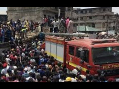 Breaking News: 100 Children Trapped In Collapse Building