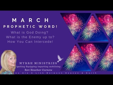 March Prophetic Word!  DIRECTIONS FOR INCREASE   &  Global Prophetic  Prayer Watch