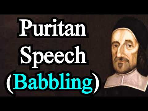 Puritan Speech / Babbling - Richard Baxter (Michael Phillips Sermon)