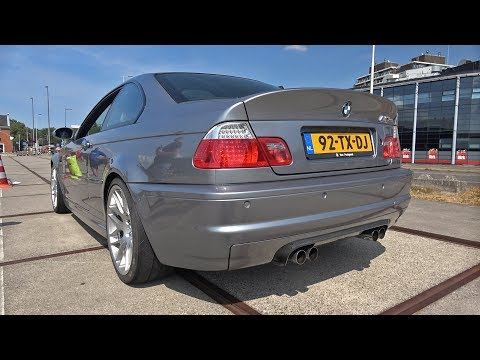BMW E46 M3 CSL & M3 GTS – Exhaust Sounds!