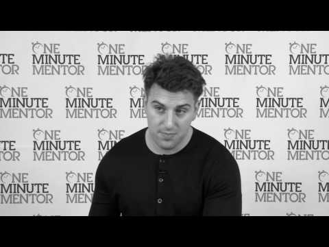 Hearst One Minute Mentor: Brian Chesky on Startups