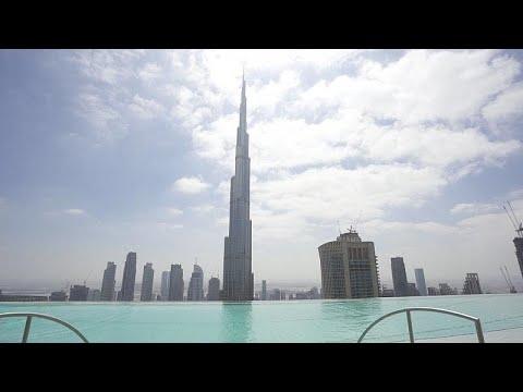Dubai'nin modern gökdelenleri ve eşsiz teras manzaraları