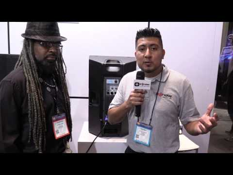 NAMM 2017 - I DJ Now - Henry with Darrin from DAS featuring the Altea 15A Pro