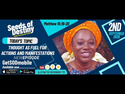 Dr Becky Paul-Enenche - SEEDS OF DESTINY - WEDNESDAY SEPTEMBER 2, 2020