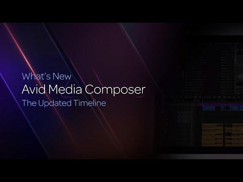 The Updated Timeline in Media Composer