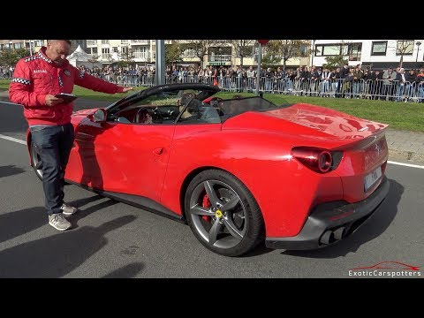 Ferrari Portofino - Launch Control & Acceleration Sounds !
