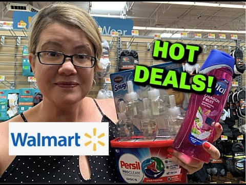 WALMART IN-STORE DEALS (7/14 - 7/20 ) | PERSIL, BODY WASH, HAND SOAP & MORE!