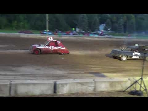 Michigan Bean Festival RWD figure eight Heat 1 (Fairgrove, Michigan)