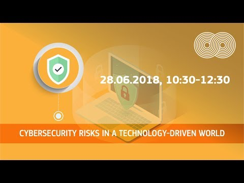 Cybersecurity risks in a technology-driven world photo