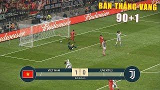 VIETNAM vs JUVENTUS - Top 1 Serie A - Ronaldo vs Cong Phuong - PES19