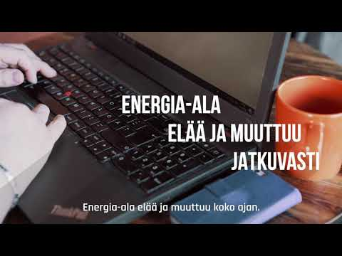 Palveluasiantuntijana energia-alalla