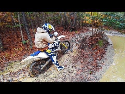 Autumn Trail Riding TC250 2-Stroke and KX250F