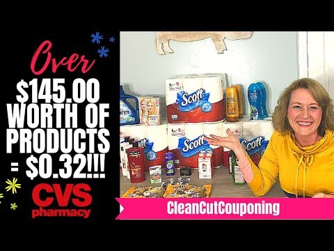 CVS COUPONING LOOT (10/07-10/13) + Amazon Gift Card Giveaway! Paper, Cheap Purex, Haircare & More!