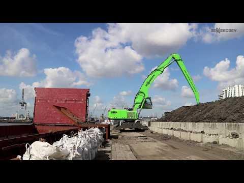 SENNEBOGEN 855 E Hybrid Mobil - Hafenumschlag bei NH Chartering GmbH, Deutschland