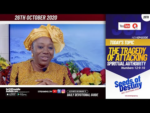 Dr Becky Paul-Enenche - SEEDS OF DESTINY - MONDAY OCTOBER 26, 2020