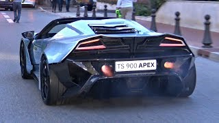 BEST of Top Marques Monaco 2018! – Burnouts, Police, Tuned Cars  LOUD Sounds!