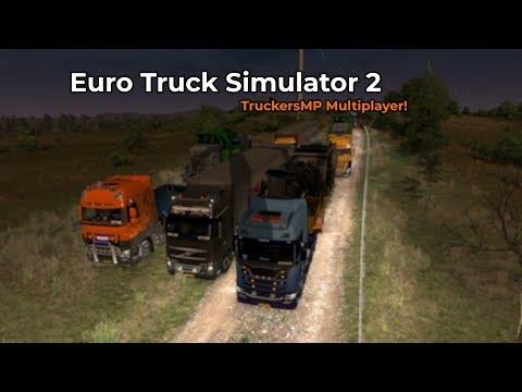 Euro Truck Simulator 2  TruckersMP Opname 05072018
