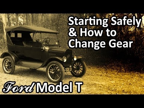 My 1925 Ford Model T - Starting Safely & How to Change Gear