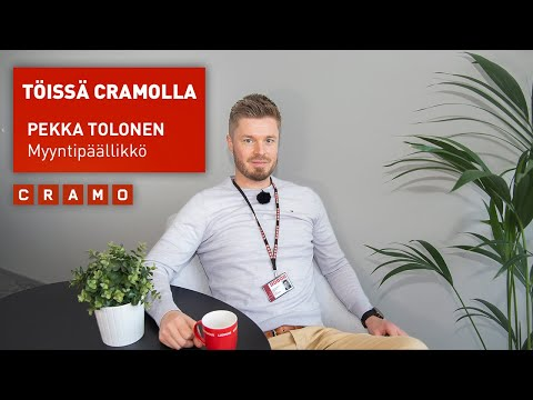 Töissä Cramolla - Pekka Tolonen