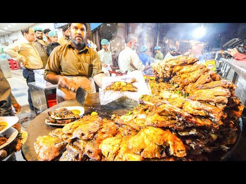 Street Food in Pakistan – HARDCORE Chicken, GOAT Foot PAYA + Pakistani Street Food TOUR of Lahore!!!