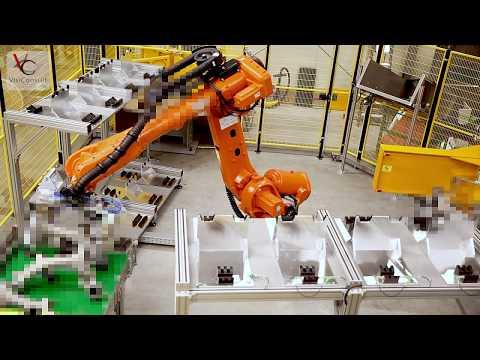 XRHRobotStar - Die vollautomatische Röntgenprüfanlage
