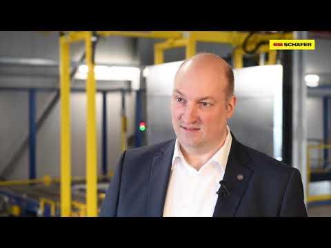 Future-oriented logistics center for RheinfelsQuellen | SSI SCHAEFER