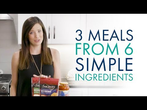 3 Easy Meals From 6 Simple Ingredients
