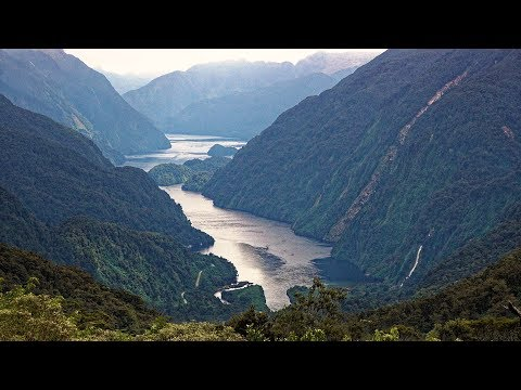 Doubtful Sound, Fiordland, New Zealand in 4K Ultra HD