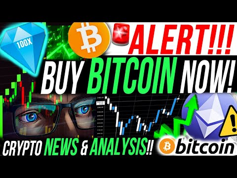 BUY BITCOIN NOW!!!!📈WYCKOFF ANALYSIS!! Ethereum BULLISH?! Crypto News!!!