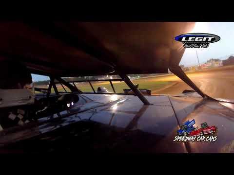 #31 Justin Kraft - Sportsman Late Model - 6.26.21 Legit Speedway Park - In Car Camera - dirt track racing video image