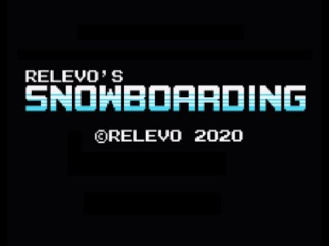 RETROJuegos Homebrew - Relevo's Snowboarding © 2020 Relevo - MSX