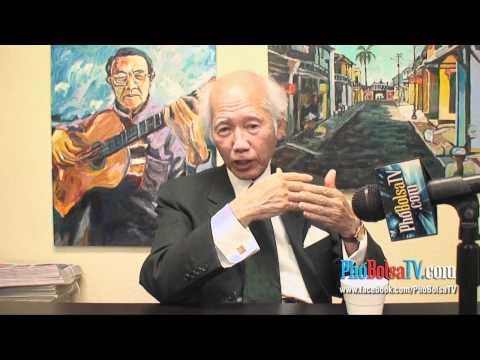 Ông Đinh Viết Tứ nói về buổi phỏng vấn với Larry King Bolsa Ngụy Vũ