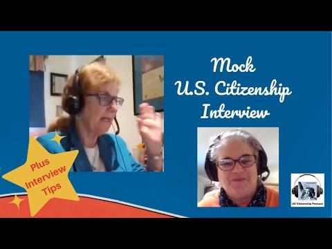 Mock U.S. Citizenship Interview