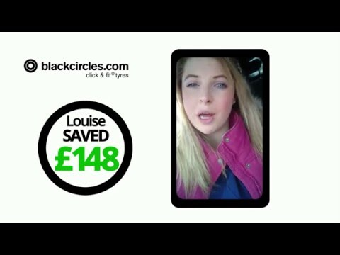 Meet Louise - Blackcircles.com saved her £148 on Tyres!
