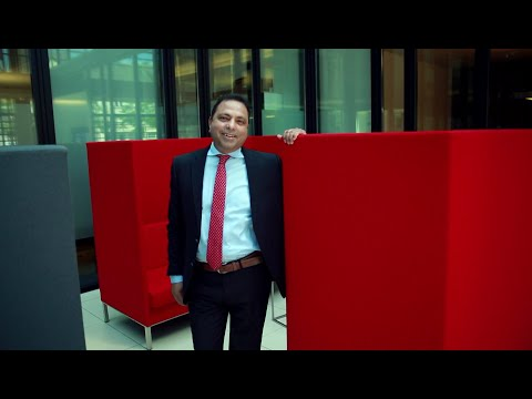Ich bin Santander: Abdul Habib Shaik kommt an