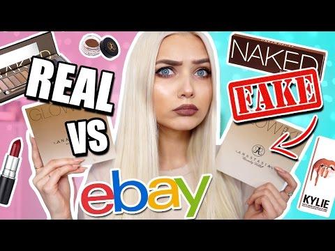 Video TESTING REAL VS FAKE EBAY MAKEUP BOUGHT UNDER £10! 😱 - UCBKFH7bU2ebvO68FtuGjyyw