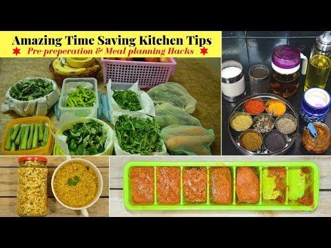 Time Saving Kitchen Tips/Hacks for Healthy Lifestyle   Indian Vegetarian Meal Planning   Urban Rasoi - UCBqEkWACYxuR5IHlbKuYGqA