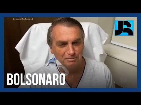 Presidente Jair Bolsonaro supera obstrução intestinal e deve receber alta no domingo (18)