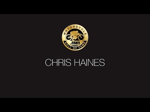 Chris Haines Presentation and Acceptance Speech