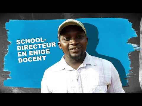 Schooldirecteur Elia  - SOS Kinderdorpen